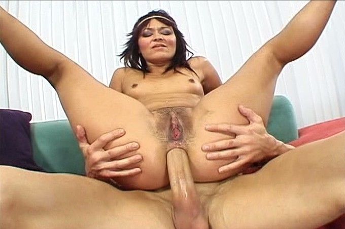 Skinny Teen Crissy Moon Gets Her Ass Fucked By A Big Cock