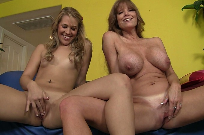 Two Hot Females Ready For A Sexy Threesome