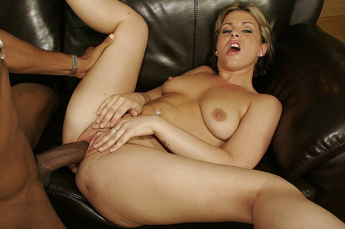 Horny Milf Loves Being Filled With Black Cock