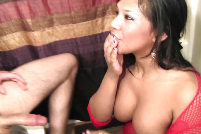 Exotic Slut Fucks Her Man In The Bathroom
