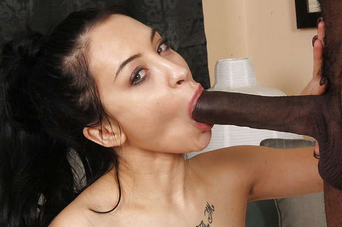 Solo Pussy Play Turns Into Some Hot Interracial Fucking