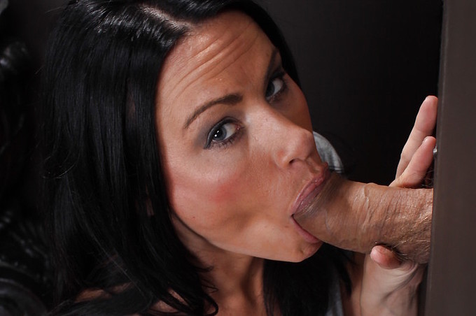 Ashli Ames Experiences A Glory Hole First Hand