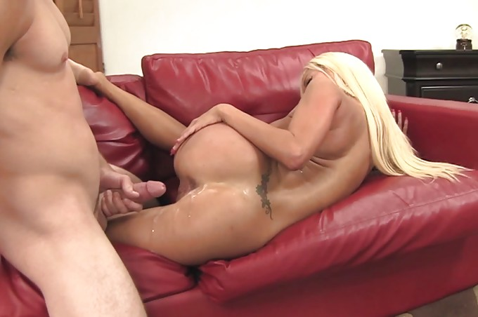 Hot Blonde Nikita Comes Home To Her Man For A Good Fuck