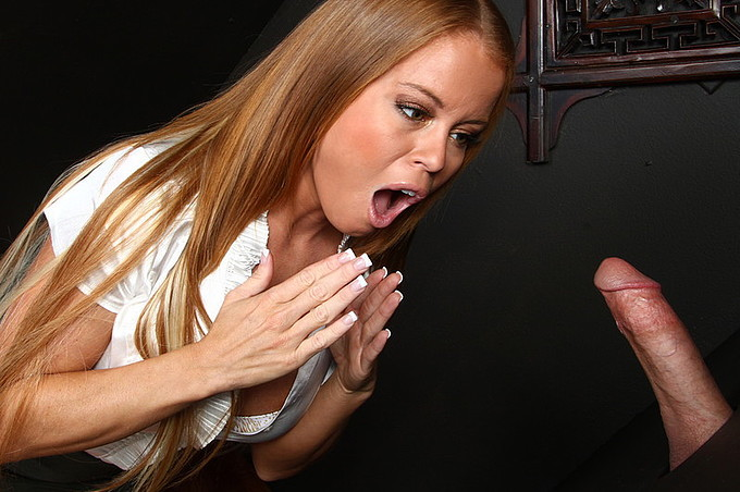 Nikki Delano Loves To Tease Men At The Gloryhole