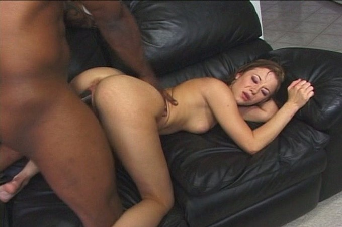 Sexy Brunette With Great Body Loves Black Guys