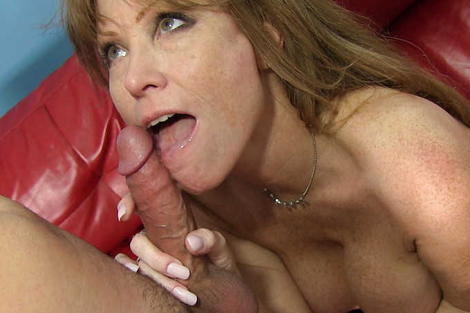 Hot Older Brunette Wants A Young Stud In Her Mouth