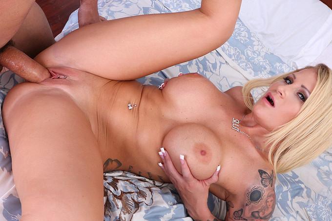 Big Titty Milf Fucks A Young Muscular Stud
