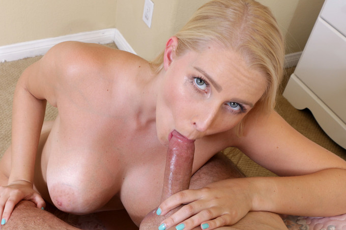 Amazing Blonde Fucked Hard After Masturbating